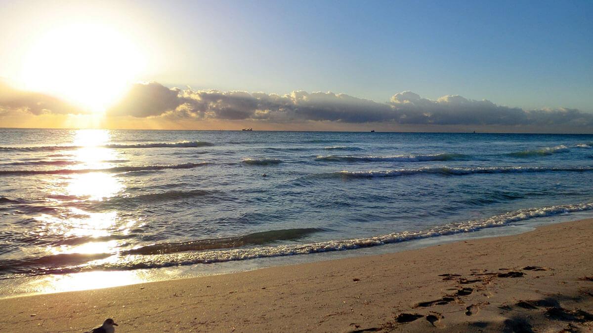 海洋散骨のイメージ