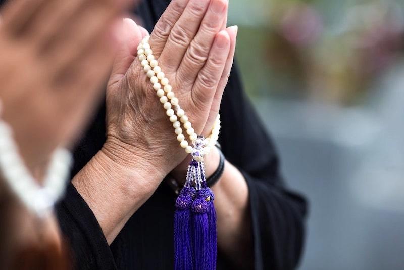 数珠と祈り