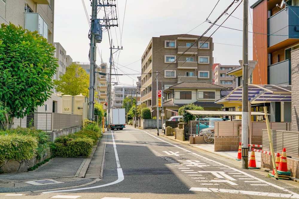 住宅と接する道路のイメージ