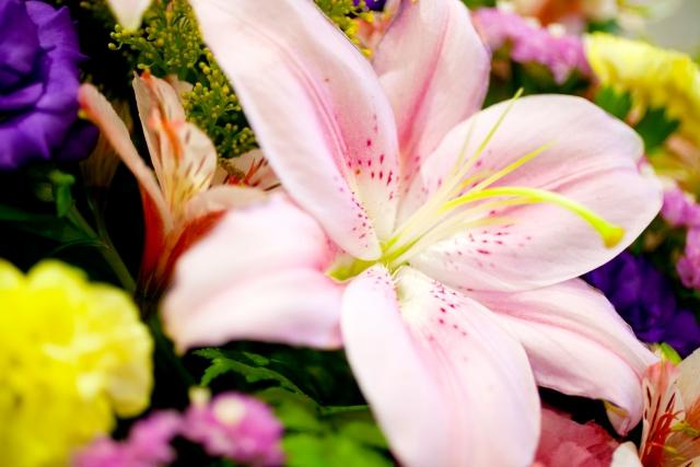 いい葬儀 花