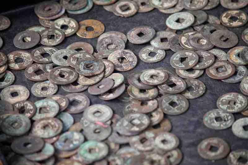 遺品のコインのイメージ