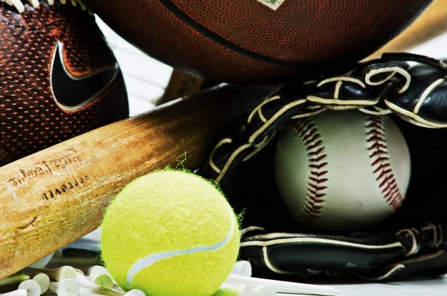 スポーツ用品のイメージ